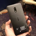 Back View of Nokia 6, branding