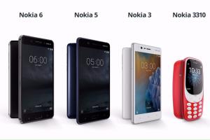 Nokia Phones MWC 2017