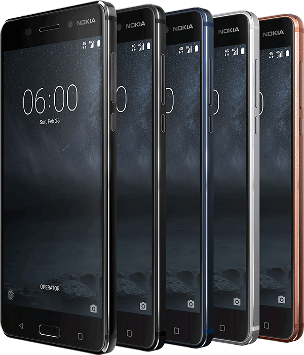 nokia 6 all color variants