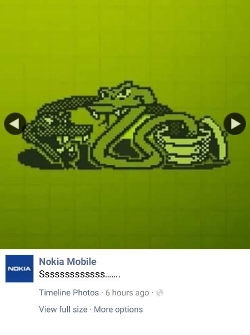Nokia Snakes game teaser