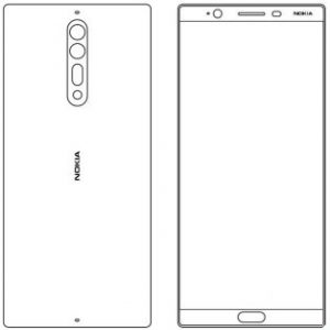 Nokia 8 design sketch