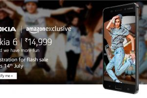 nokia 6 amazon flash sale india