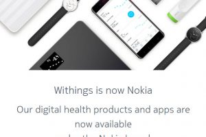nokia withings redirect