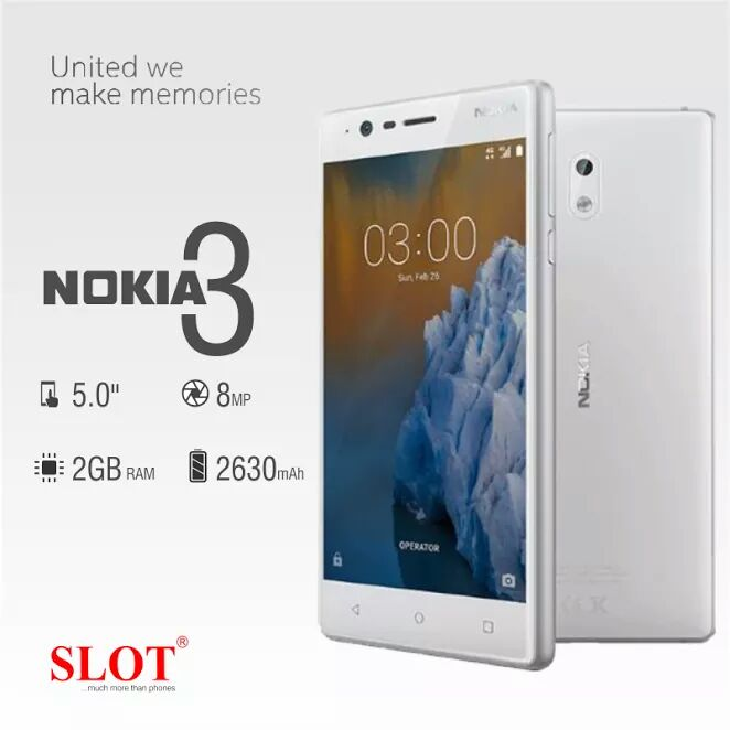 Nokia 3 at slot.ng