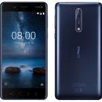 Nokia 8 blue HD Image front & back