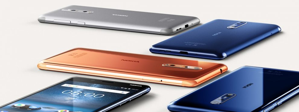 Nokia 8 colors
