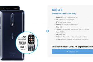 Nokia 8 pre-order SA