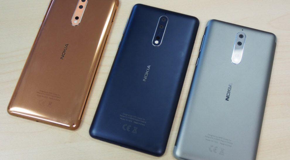 Nokia6 and Nokia 8