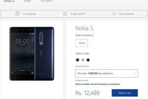 Nokia store India