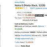 nokia 6 32gb price