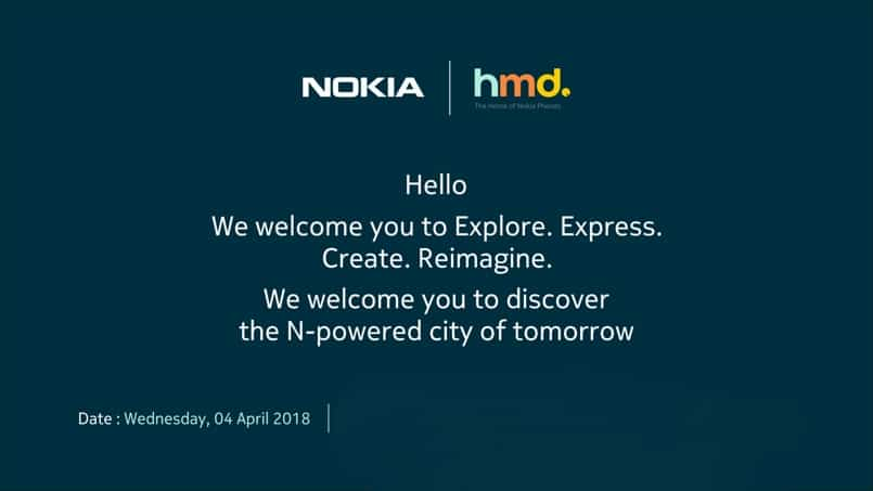 Nokia HMD Invite for 4th April event in India