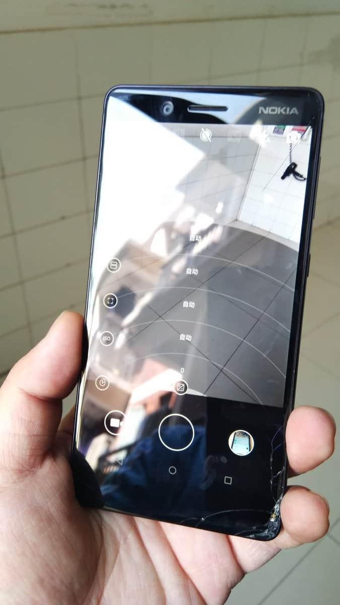 Nokia Pro Camera app running on Nokia 7