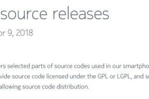 soruce code release by HMD Global