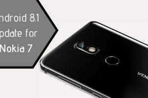Android 8.1 update for Nokia 7