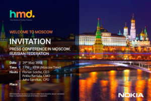 HMD Global Russia Launch event May 29