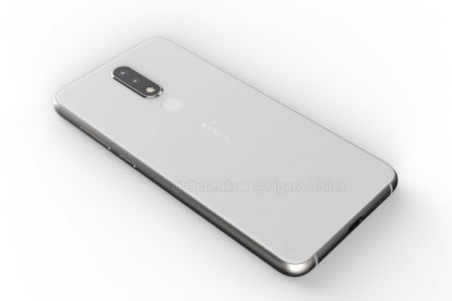 Nokia 5.1 plus render (back)