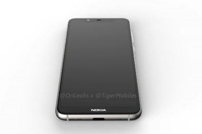 Nokia 5.1 plus render (front)