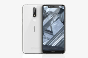 Nokia 5.1 plus leaked render 1