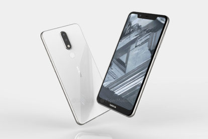 Nokia 5.1 leaked render front and back