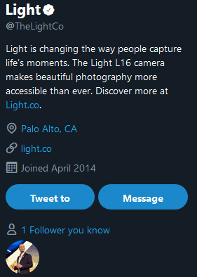 Juho starts following Light on Twitter