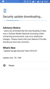 Nokia 8 July security release