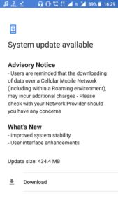 Nokia 5 stability update July