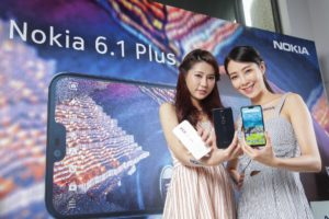 Nokia 6.1 plus Taiwan launch