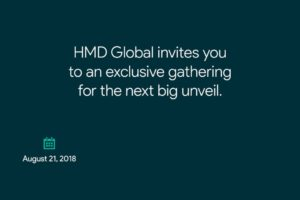 Nokia HMD live launch event invite