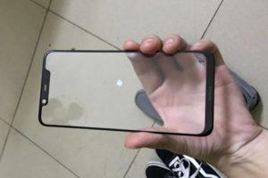 Nokia X7 front panel