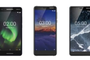 Nokia 3.1 2.1 and 5.1