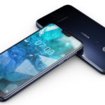 Nokia 7.1 in blue color