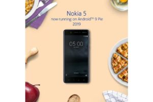 Android Pie update for Nokia 5