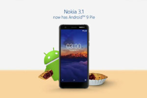 ANdroid Pie for Nokia 3.1