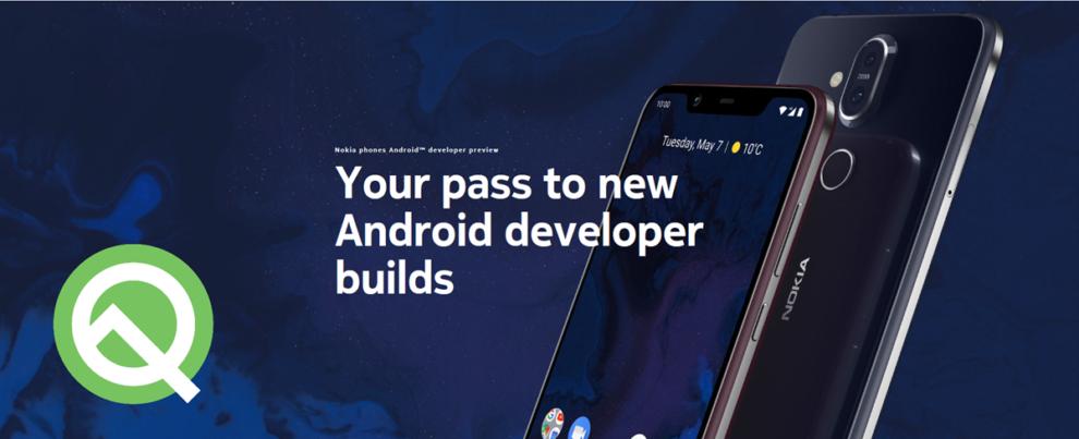 Nokia 8.1 Android Q