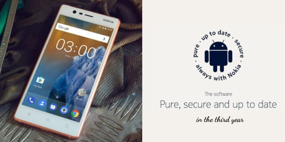 Nokia 3 - Security updates in the third year