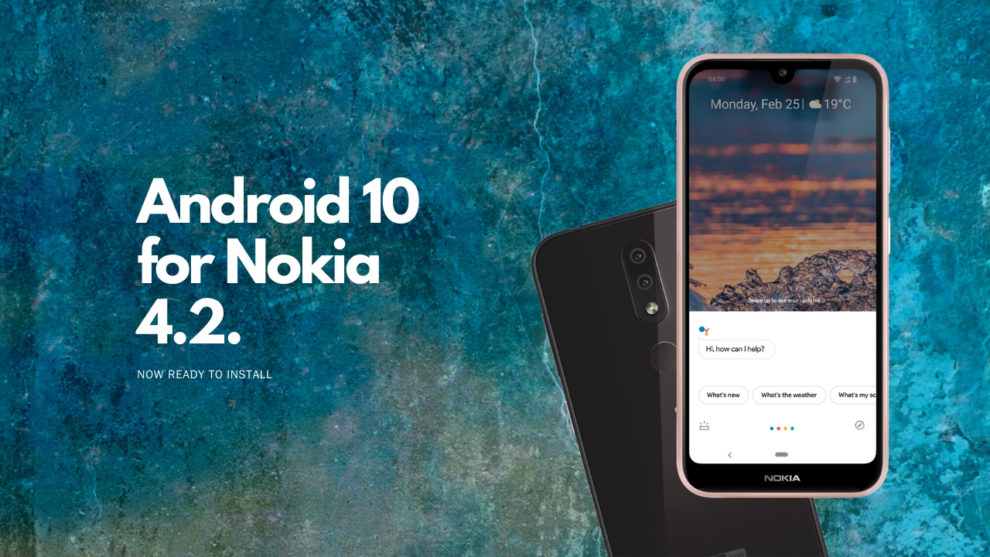 Nokia 4.2 gets Android 10 NC