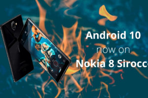 Android 10 out now for Nokia 8 S