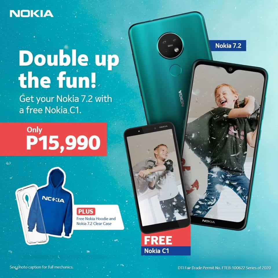 Nokia 7.2 offer in the Philippines